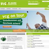 www.vcg.de in neuem Look